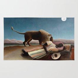 The Sleeping Gypsy by Henri Rousseau Rug