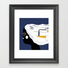 SAILHEAD Framed Art Print