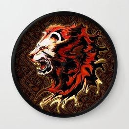King Lion Roar Wall Clock