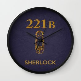 Sherlock 04 Wall Clock