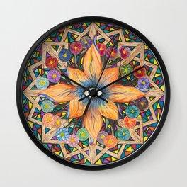 Shards of Love Wall Clock