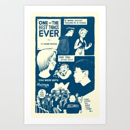 One of the Best Things Art Print