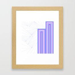 Pattern Number One Framed Art Print