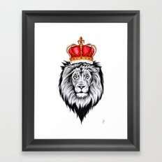 Lion King Framed Art Print