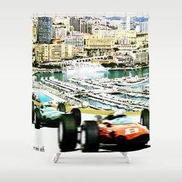 Monaco 1966 Grand Prix Shower Curtain