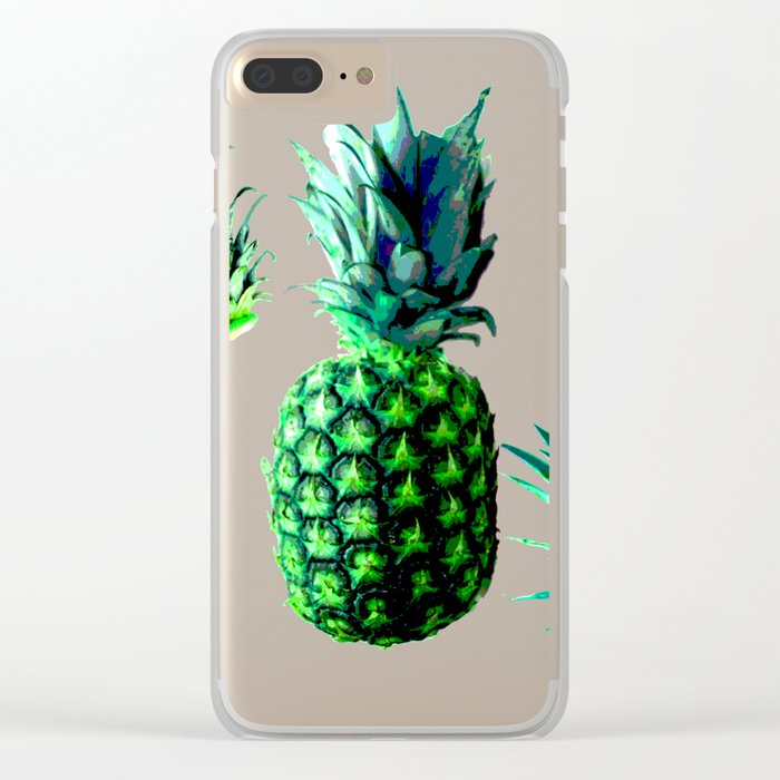 Malibu Pineapple | Anana Exotic Clear iPhone Case
