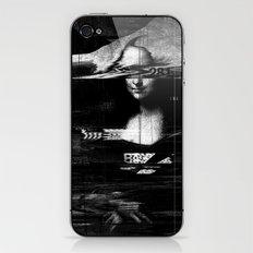 Mona Lisa Glitch iPhone & iPod Skin