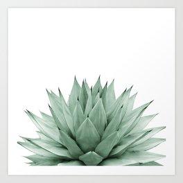 Agave Green Summer Vibes #1 #tropical #decor #art #society6 Art Print