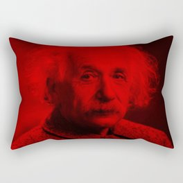 Albert Einstein - Celebrity (Photographic Art) Rectangular Pillow