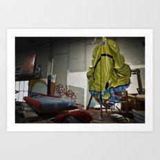 Living Alone Art Print
