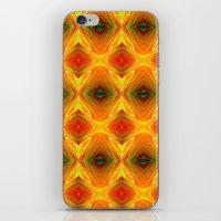 orange pattern iPhone & iPod Skins featuring Orange Pattern by Art-Motiva