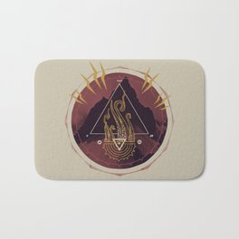 Mountain of Madness (alternate) Bath Mat