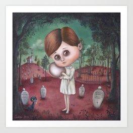 Sperm Cemetery Art Print