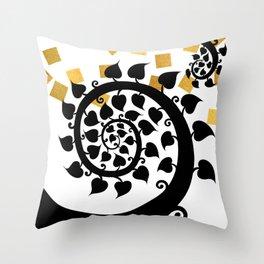 Bodhi Tree0607 Throw Pillow