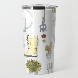 Gardening Tools Travel Mug