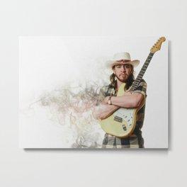 Stevie - Ray Vau-ghan Metal Print