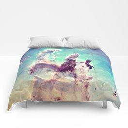 Pillars of Creation Aqua Cool Comforters