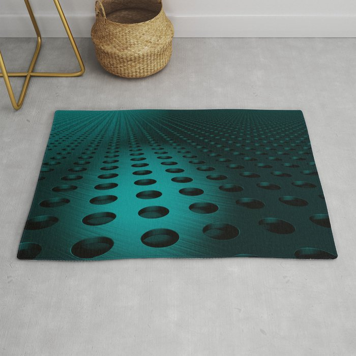 Circular Speaker Grille Rug By Goodwin