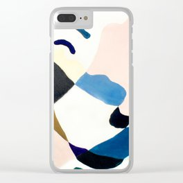 Land Meets Sea Clear iPhone Case