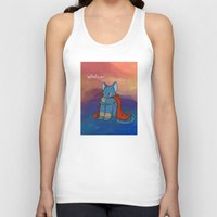 whatever Tank Tops featuring Whatever by BlacksSideshow
