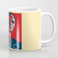hero Mugs featuring Hero by Skylofts Merch