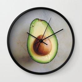 Avocado Love (3)  Wall Clock