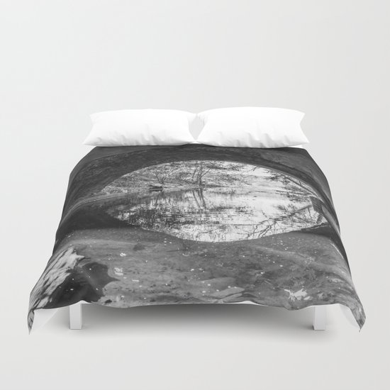 I Can See the Other Shore Duvet Cover