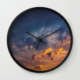 On Your Way Wall Clock