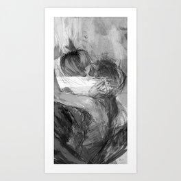 Lovers no.2 Art Print