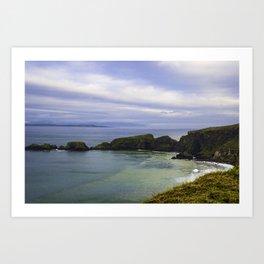 Irish Ocean Art Print
