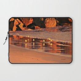Salty Brine Sandpipers Laptop Sleeve