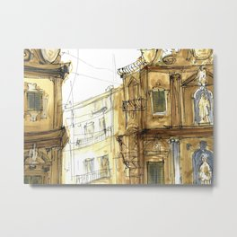 Old Palermo Metal Print
