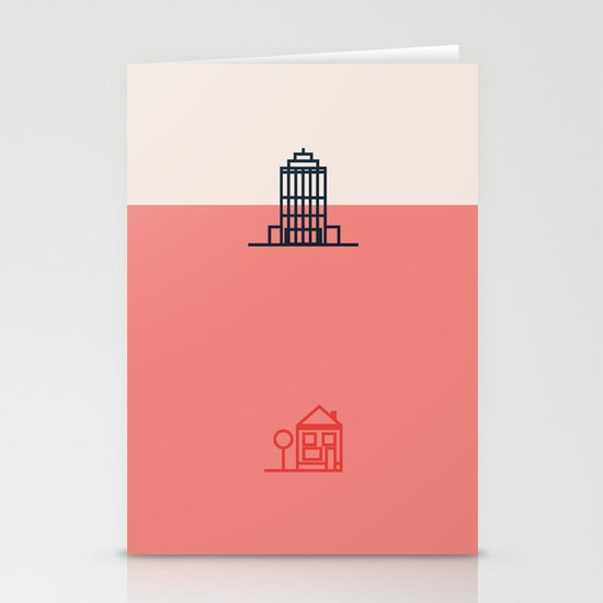 City to Village Stationery Cards