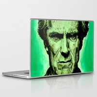 clint eastwood Laptop & iPad Skins featuring Clint Eastwood by Jason Hughes