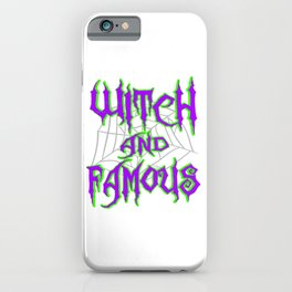 Hangover with the Halloween? Can't get enough of witches? Here's the perfect tee for you!  iPhone Case