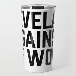 Cleveland Against the World Travel Mug