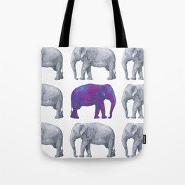 Elephants II Tote Bag