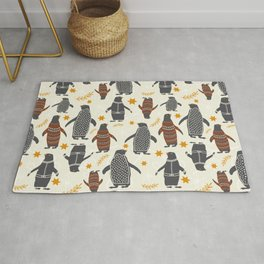 Mary's Penguins Rug