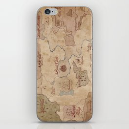 Map of Hyrule- Legend of Zelda iPhone Skin