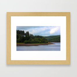 Usk Reservoir 2 Framed Art Print