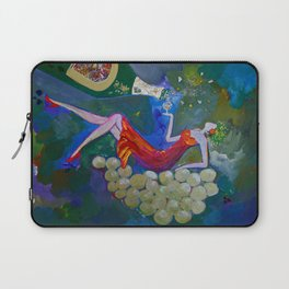 Chardonnay Label Art for BIN 616 Laptop Sleeve
