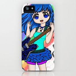 Guitar Girl iPhone Case