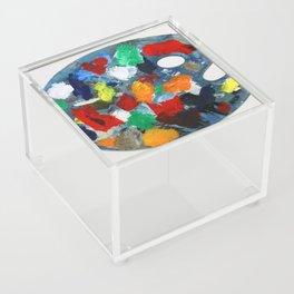 The Artist's Palette Acrylic Box
