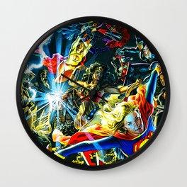 wanits super woman Wall Clock