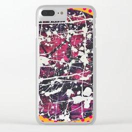 Hopkin's Bedtime - Polka dot Clear iPhone Case