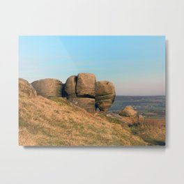 The Bridestones - West Yorkshire Metal Print