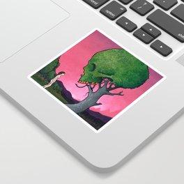 Low-Hanging Fruit Sticker