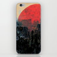 sunshine iPhone & iPod Skins featuring Last Sunshine by Fernando Vieira