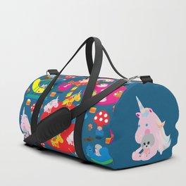 Welcome to Wonderland Duffle Bag