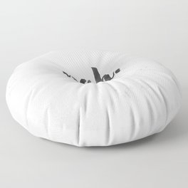NAH Marble Quote Floor Pillow